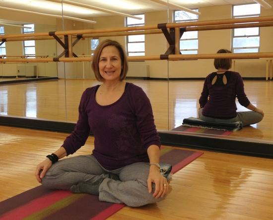 Laura Bonkosky, yoga instructor
