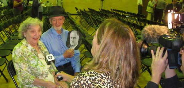 "Ken Burns' ""The Roosevelts"" premiere event in Greenbelt, Maryland"