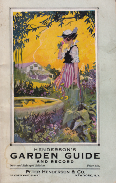Cover of Henderson's Garden Guide and Record
