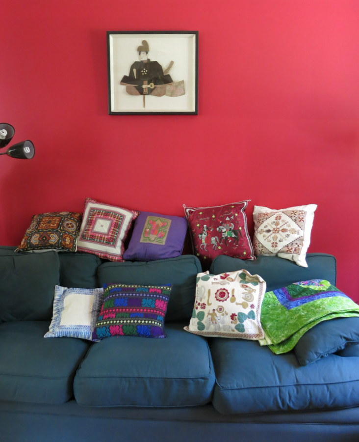 colorful room in Greenbelt Homes Inc