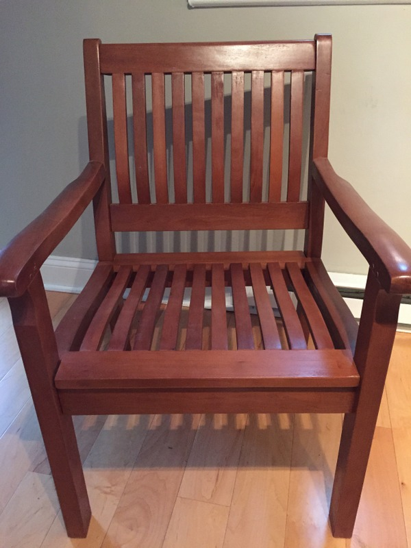 chair donated by Greenbelter