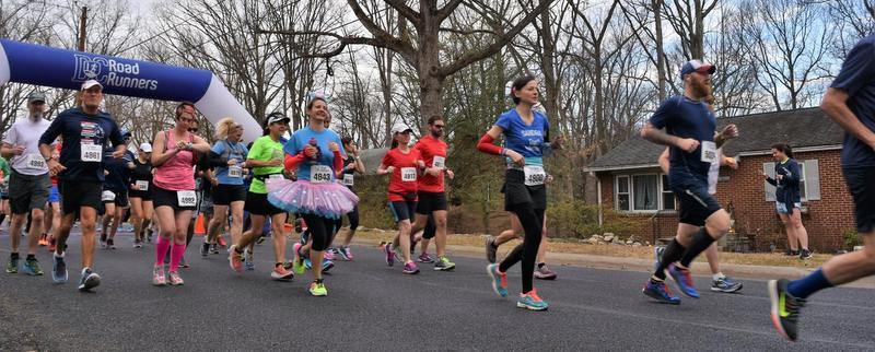 DC Road Runners George Washington Marathon in Greenbelt