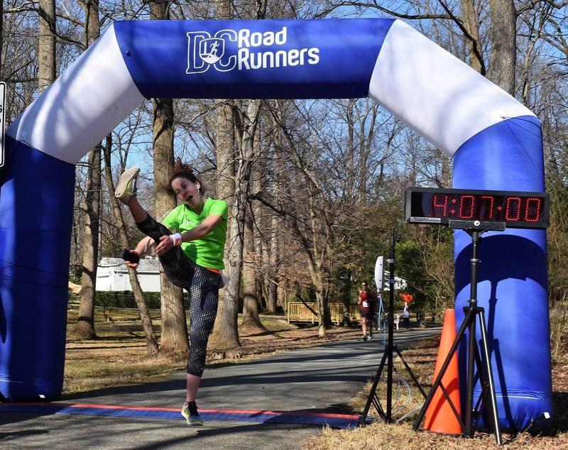 DC Road Runners George Washington Marathon in Greenbelt Finish Line