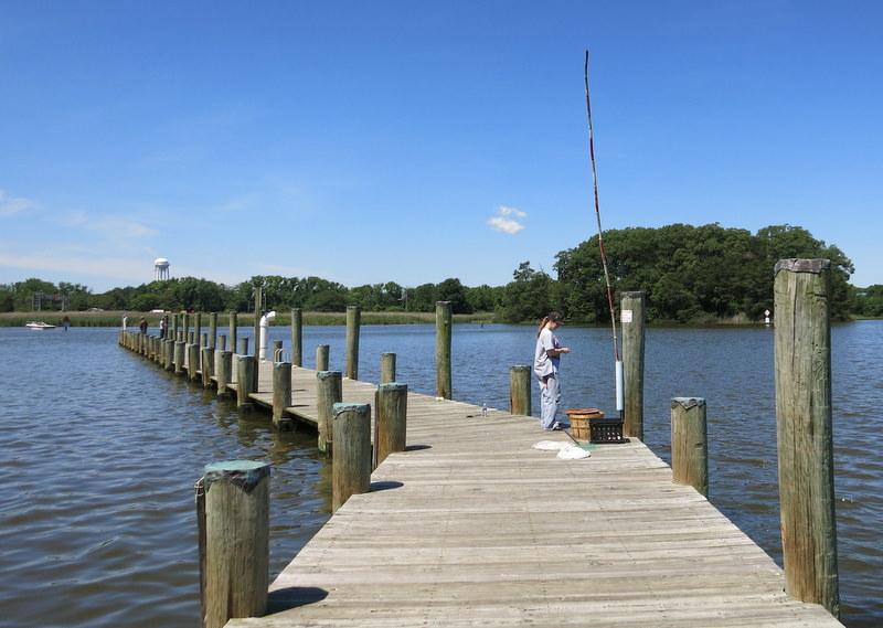 Sandy Point, Maryland crabbing