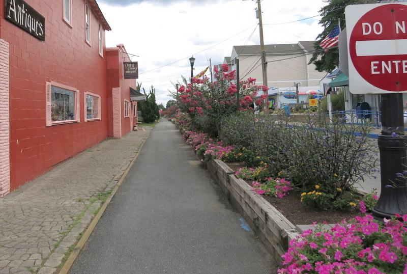 Bike path, North Beach, maryland