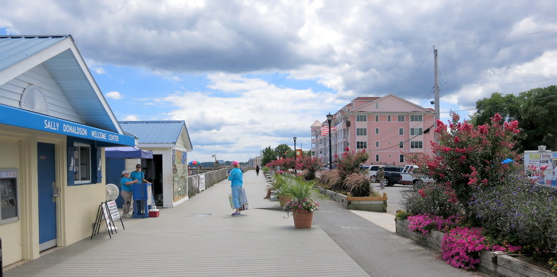 boardwalk at North Beach, Maryland
