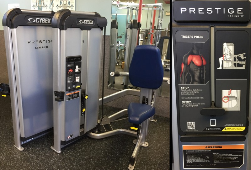 Cybex Prestige at Greenbelt Fitness Center
