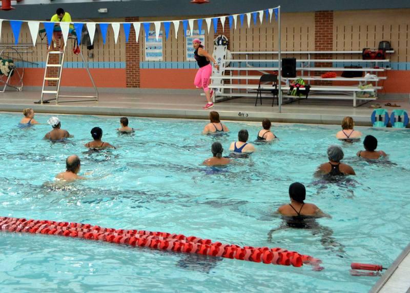 Aqua Zumba Party at Greenbelt Aquatic Center