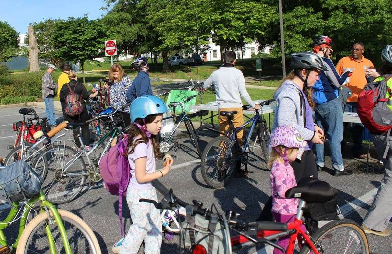 Bike to Work Day at Greenbelt Aquatic Center