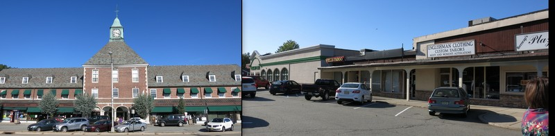 Commercial buildings in Radburn, NJ