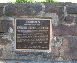 Radburn NJ National Historic Landmark