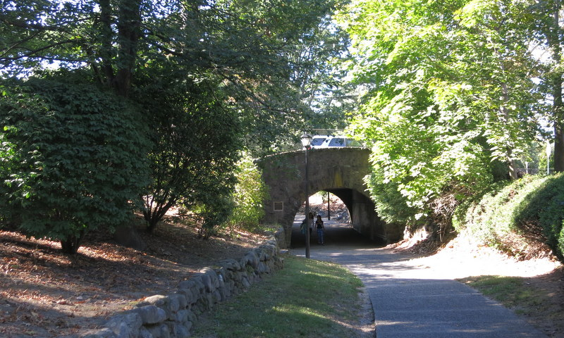 Historic underpass in Radburn, NJ