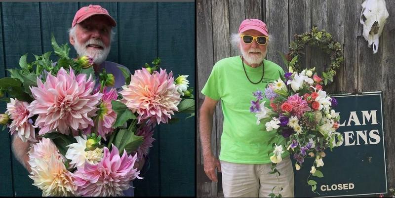 Bob Wollam at Wollam Gardens in Virginia