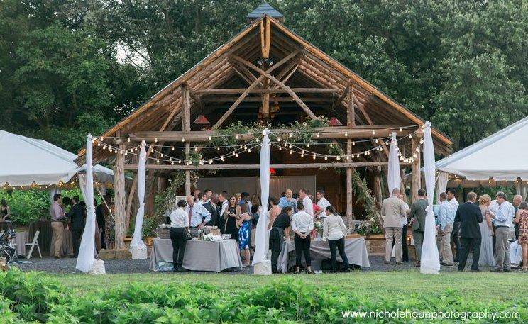 Wedding at Wollam Gardens in Virginia