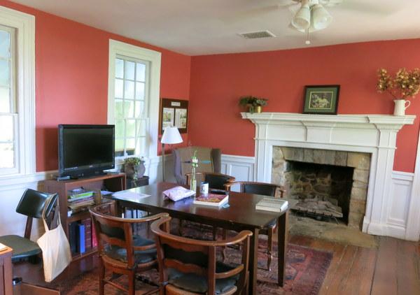Intern living quarters at Wollam Gardens in Virginia