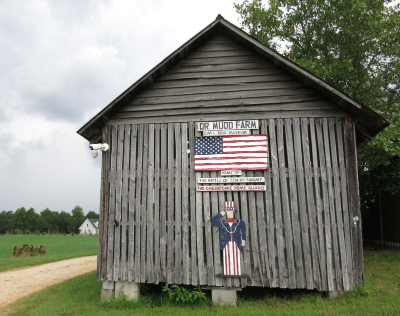 Exterior Dr. Mudd Home Museum