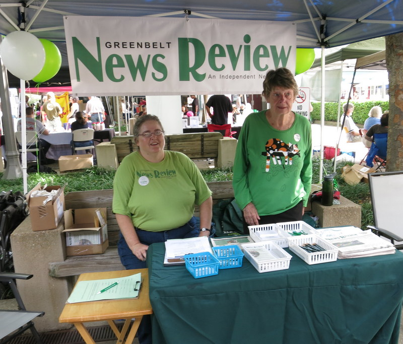 Greenbelt News Review at Labor Day Community Info Day