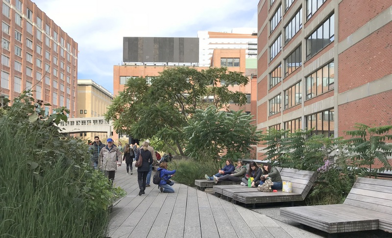 High Line in New York City