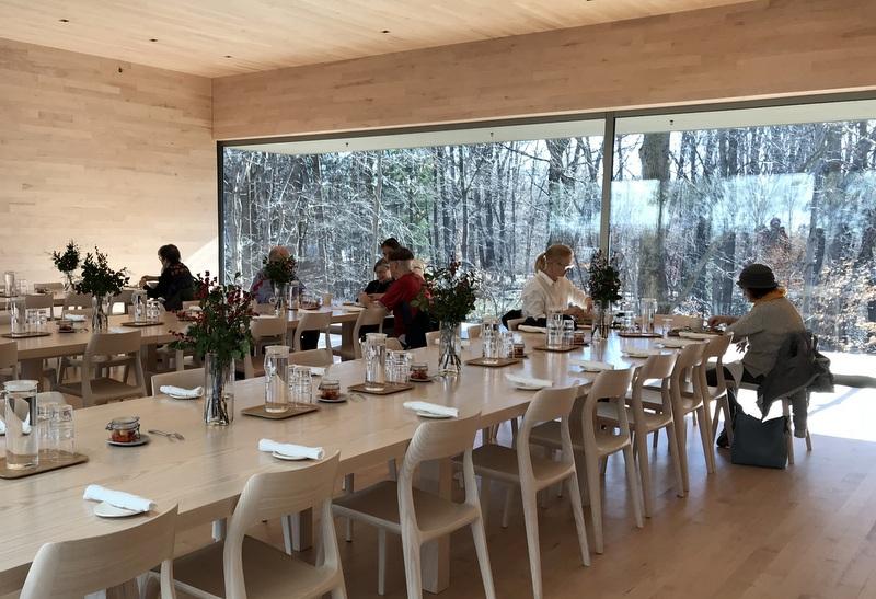 Restaurant at Glenstone Museum