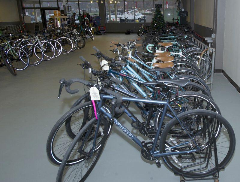 Bicycles at Proteus Bicycles