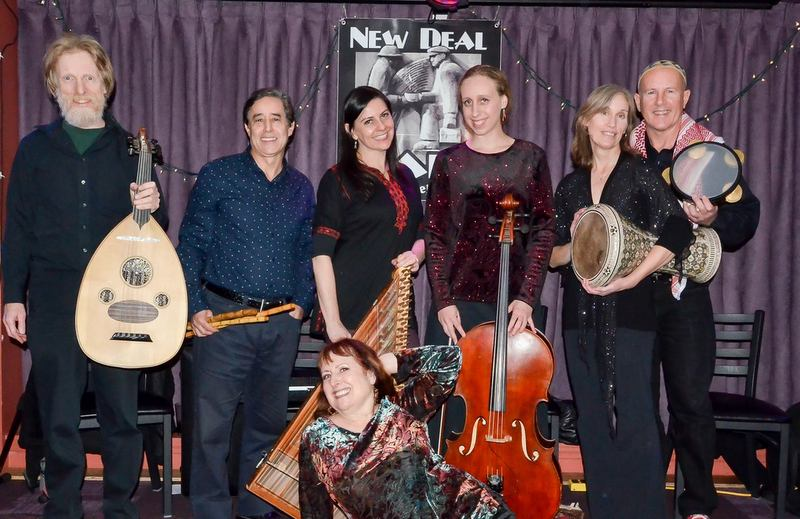 Fez Tones Hafla at the New Deal Cafe