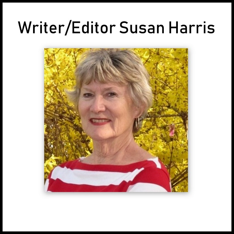 Susan Harris, Writer and Editor