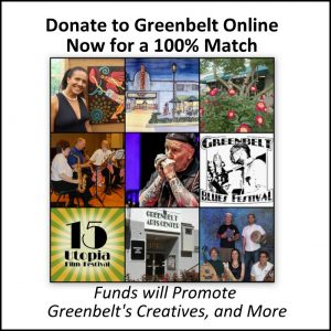 Help Greenbelt Online Now for 100% Matching Funds