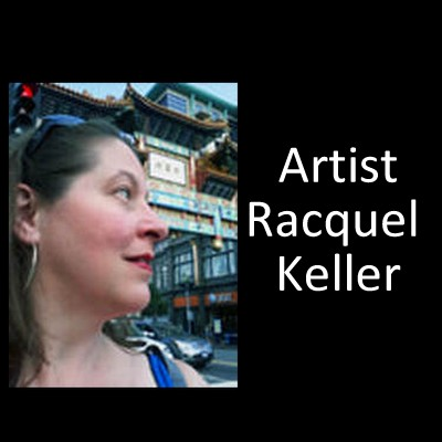Artist Racquel Keller