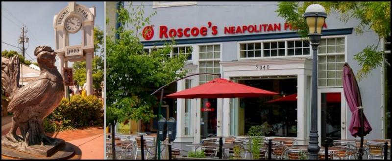 Roscoe the Takoma Park mascot, and Roscoe's Restaurant