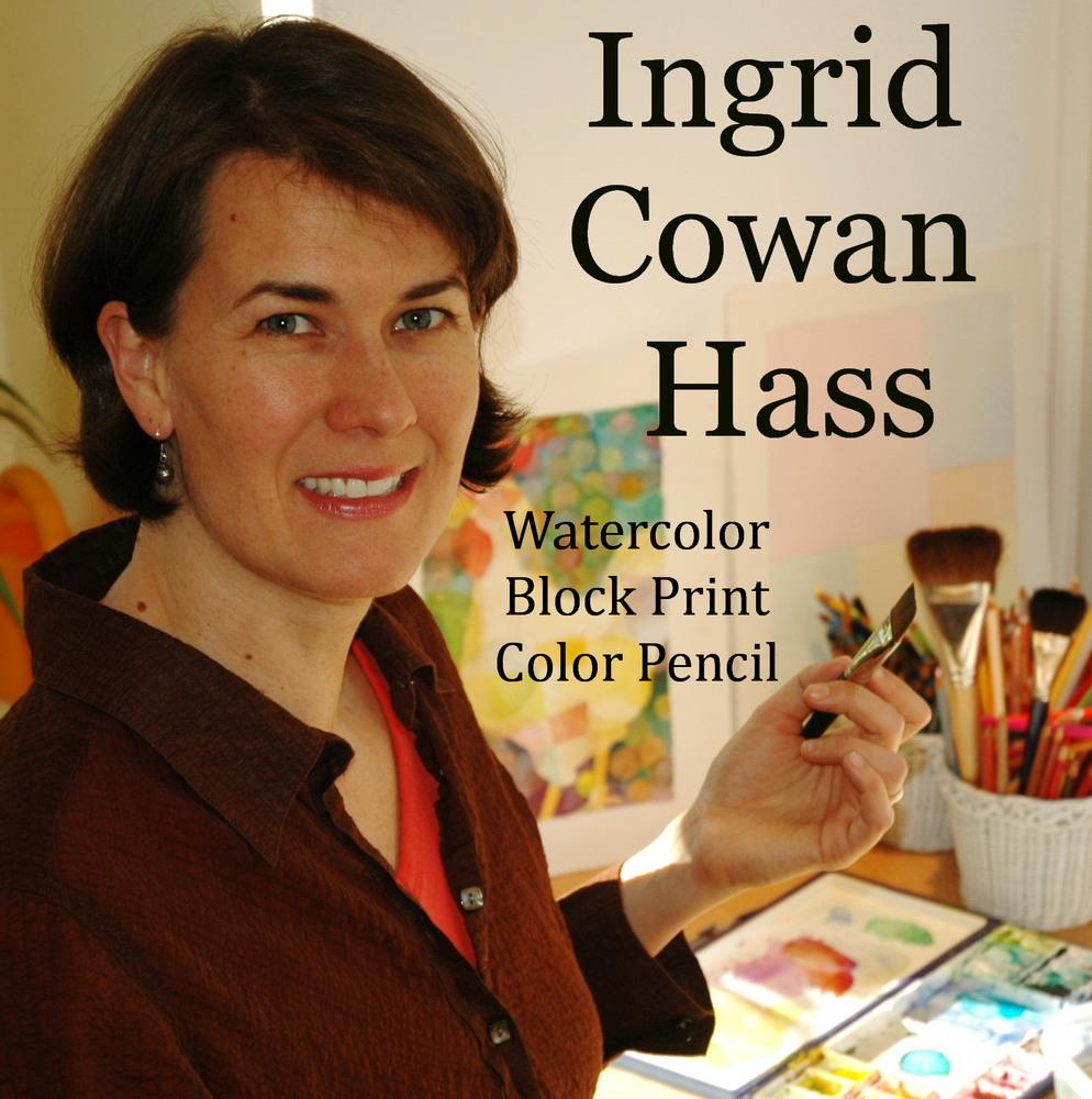 Artist Ingrid Cowan Hass