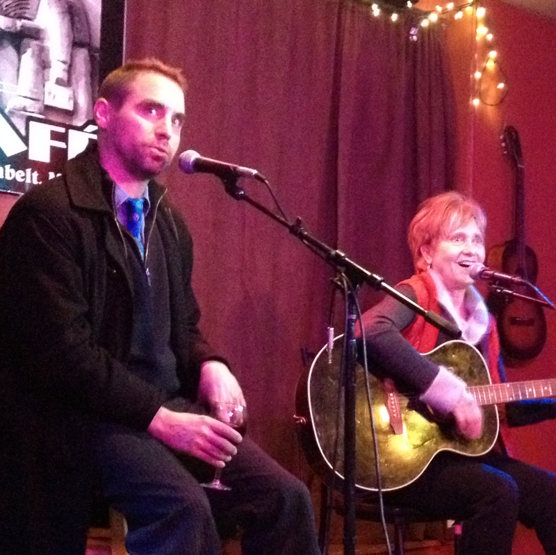 Performing with Joe Harris at the New Deal  Cafe
