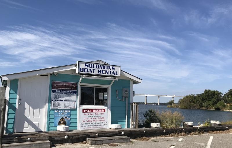 Solomon's Island boat rental