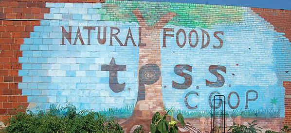 Mural at Takoma Park coop