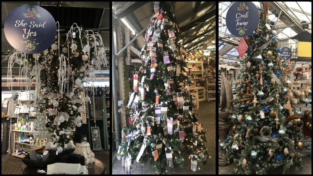 Theme Christmas trees at Homestead Gardens