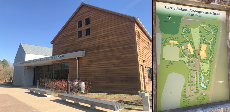 Harriet Tubman Underground Railroad Park Visitor Center