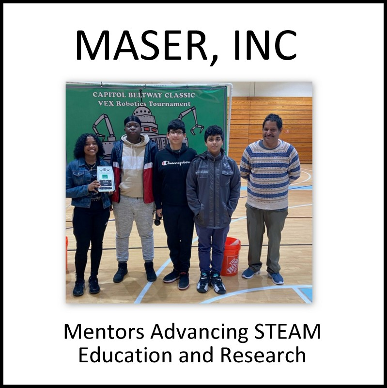 Mentors Advancing STEAM Education and Research Inc.