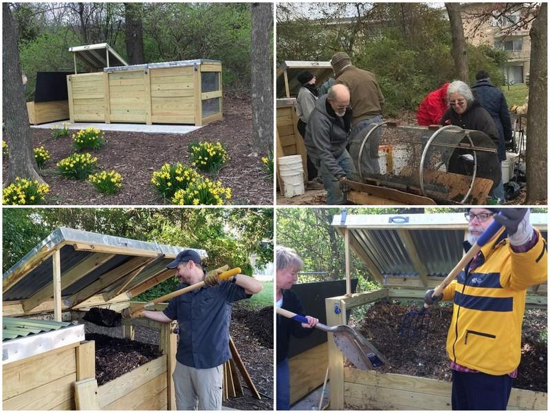 Work days for Greenbelt's Hot Composting Group