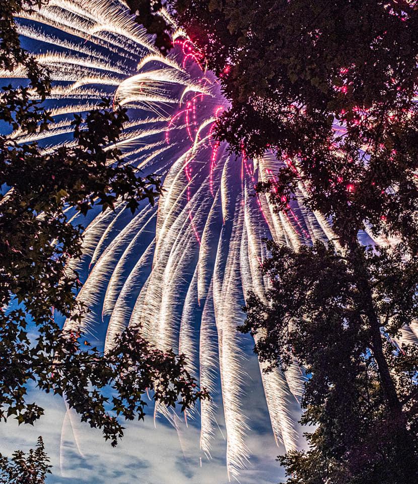 Greenbelt Fireworks 2021 by Nate Jackson